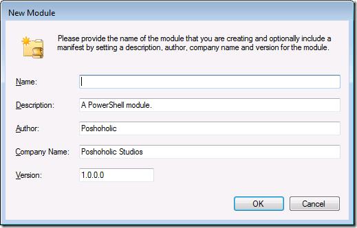 PowerShell modules made easy with PowerGUI® – Poshoholic