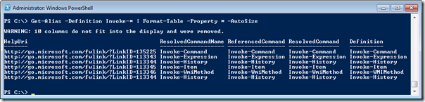 PowerShell Quick Tip: Creating wide tables with PowerShell