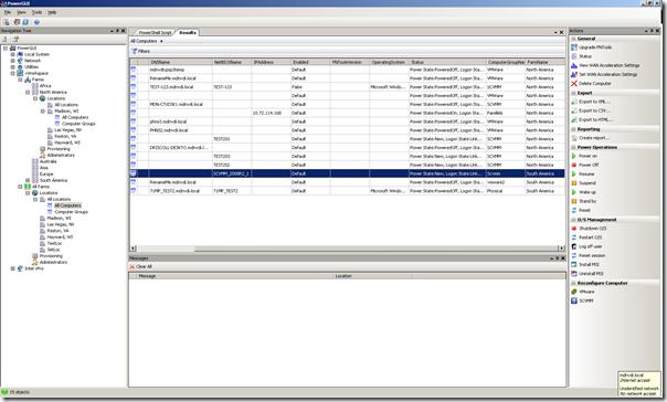 vWorkspace PowerPack - multi-farm management