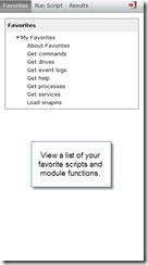 PowerGUI Pro MobileShell - Favorites - 1 of 4